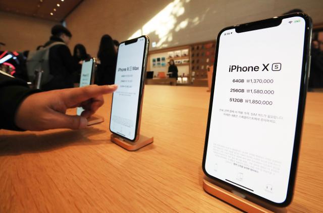 iPhone新机在韩首周销量不佳 原因系报价过高