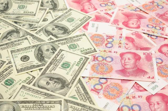 중국 위안화 고시환율(9일) 6.9329위안, 0.24% 가치 하락