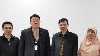 """""""韓 전자정부 벤치마킹하자""""… KLID 찾은 인니 공무원 연수단"""