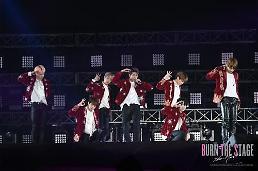 .BTS纪录片未映先红 电影票预订破10万张.