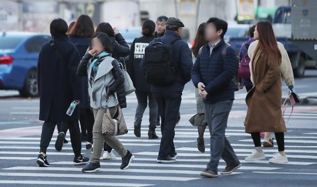 韩国迎新一轮降温天气  早晚温差超10度