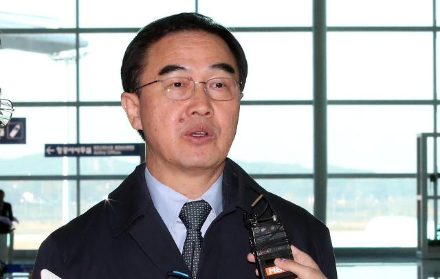韩统一部长官访美或将会见蓬佩奥 商讨构建半岛和平机制方案