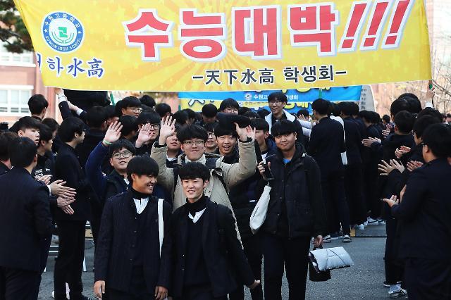 十年磨一剑 韩国高考进入倒计时