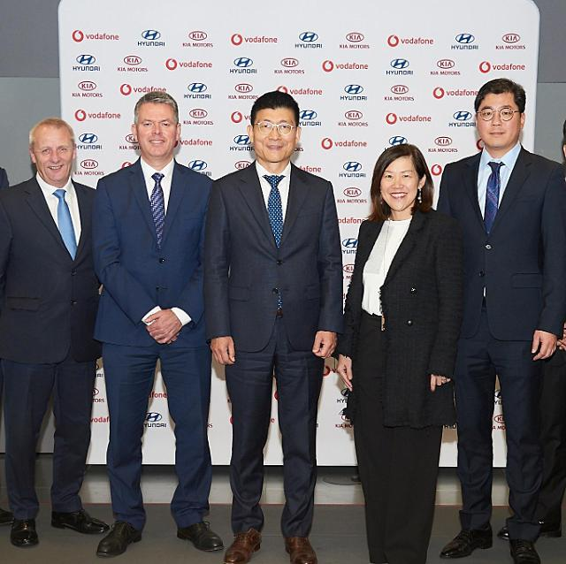 Hyundai partners with Vodafone to provide connected car service in Europe