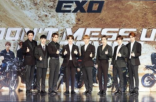 EXO新辑排美公告牌200强专辑榜第23