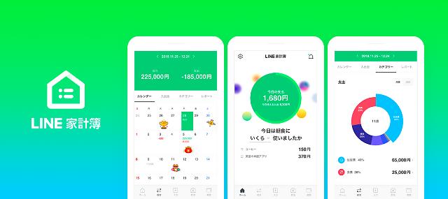 네이버 라인, 日서 자산 관리 앱 '라인 가계부' 선봬