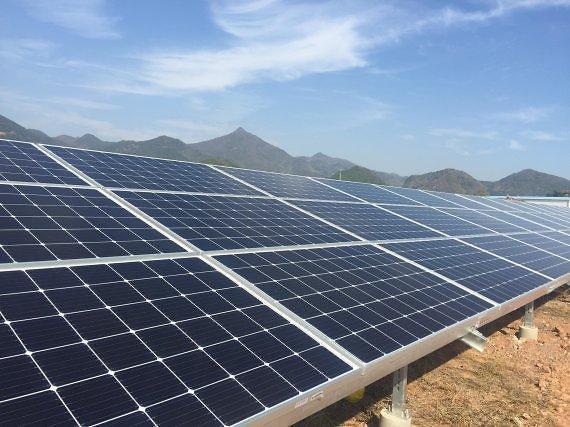 韩华Qcell为中广核项目提供100MW光伏模组