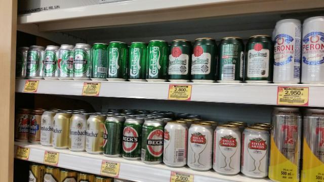 FTA签订之后 韩国进口的外国啤酒巧克力价格不降反升