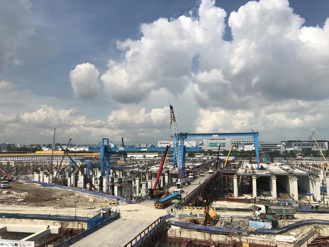 GS건설 싱가포르 T301 프로젝트 협력업체와 동반 성장 재조명