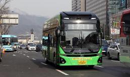 .首尔市引进电动公交车 减排大气污染物.