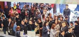 .今年10月访韩中国游客同比约增30%.