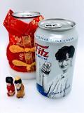 """.乐天酒类面向中国市场推出Fitz啤酒""""陆星材版""""."""
