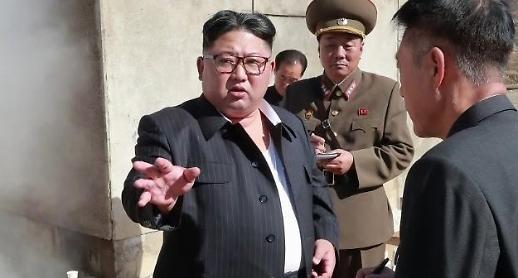 北김정은, 첨단전술무기 시험 지도