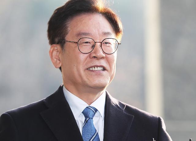 京畿道知事李在明妻子涉嫌违法助选被移送检方