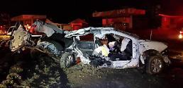.韩忠清南道一大学生酒驾送同学回家发生车祸 3死3重伤.