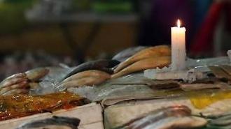 [포토] 수산시장 촛불영업 왜