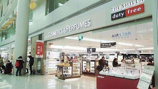 中国人喜欢!日妆在韩国免税店热销