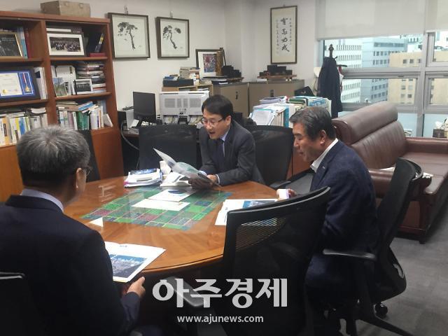 김동일 보령시장, 정부예산 확보 막판 담금질