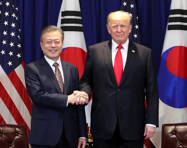 韩美首脑本月底或举行峰会 能否打破朝核谈判僵局引关注