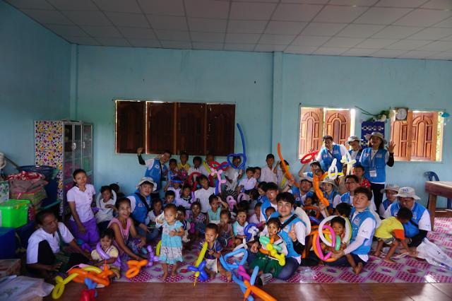 한국기업데이터 희망 봉사단 태국에서 사회공헌활동 실시