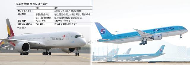 오너일가 겨냥한 성급한 규제, 항공업계 날개 꺾는다