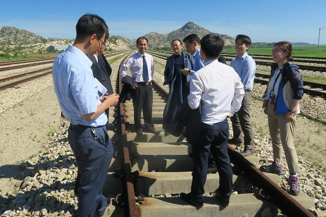 韩朝铁路对接项目有望获联合国制裁豁免