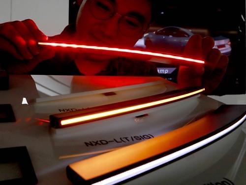 [PHOTO NEWS] LG Innotek develops super-slim LED line module for ccar lighting