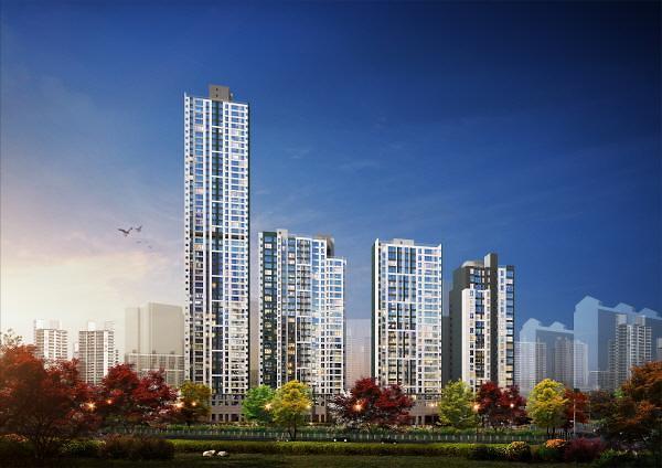 대우건설, 수지 스카이뷰 푸르지오 30일 모델하우스 오픈