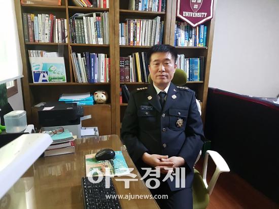 안양소방 제1대 동안 의용소방대 김두억 대장 취임