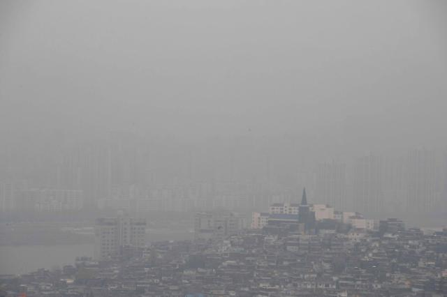 首尔十面霾伏 今日或出现沙尘暴