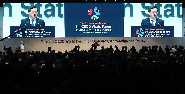 第6届经合组织国际论坛在仁川开幕