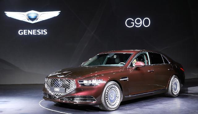 新款捷恩斯G90上市