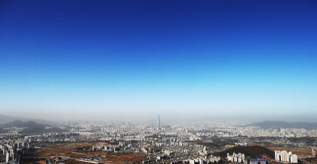 蓝天白云又回来了!首尔市解除雾霾警报