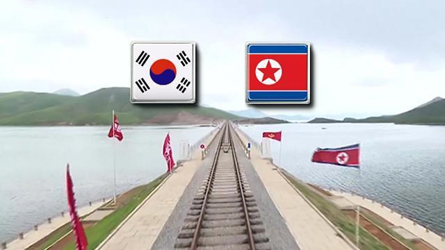 韩朝商定30日启动跨境铁路联合考察