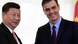 [중국포토] 스페인 방문한 시진핑