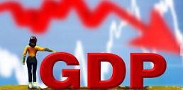.韩国2018三季度GDP增长率初步核定为0.6% .