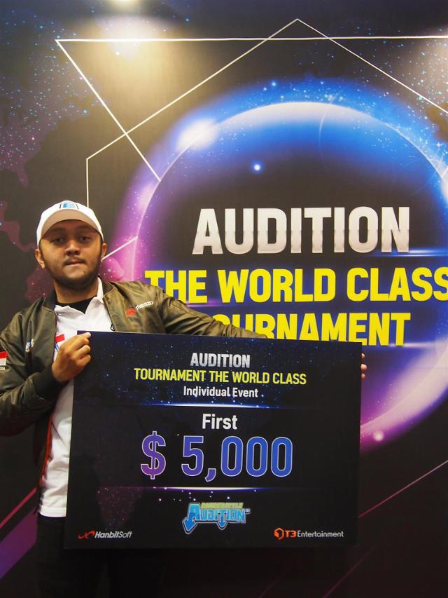 한빛소프트 오디션, 전 세계 고수들 경력 화제