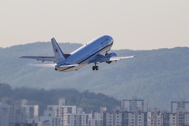 韩中空中复线今日开通 航路拥堵现象大大缓解