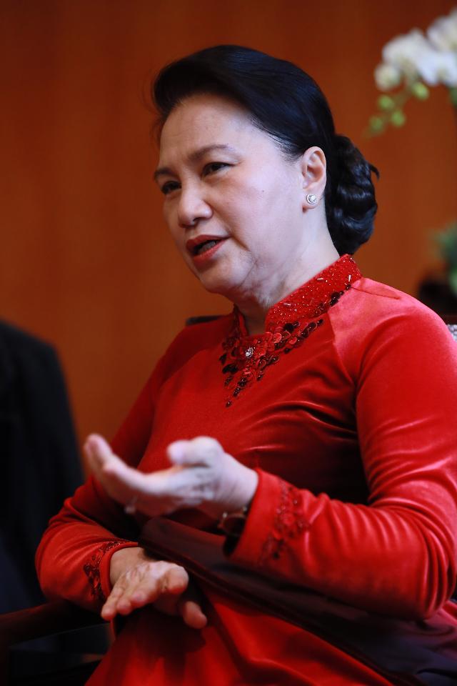 [Who?] 사상 첫 여성 국회의장 응우옌티낌응언 베트남 국회의장