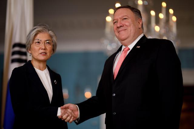 韩美外长华盛顿举行会谈 商讨朝核问题
