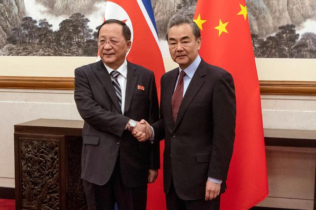 中朝外长在京举行会谈