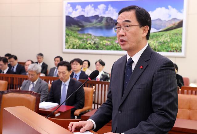 韩统一部长官:金正恩回访时间尚未敲定 仍在等待朝方答复