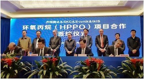 韩国SKC携手中德企业 在华兴建化学原料生产工厂