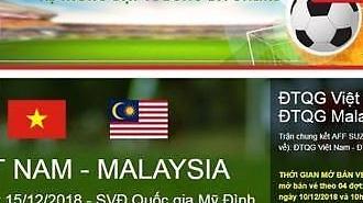 [2018 AFF 스즈키컵] 베트남 결승 2차전 1만300장 온라인 예매 오늘(10일)부터…가짜 사이트도 등장