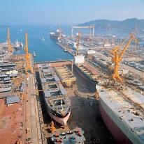 韓国造船、7年ぶりに年間受注量「世界1位」奪還