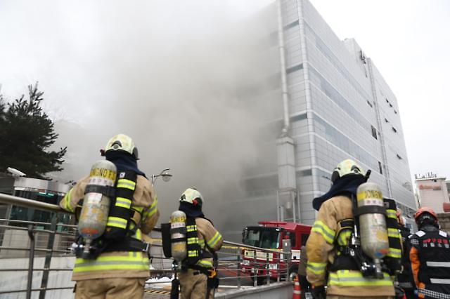 首尔市内近5年因火灾死亡人数达171名