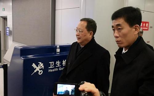 朝鲜外务相李勇浩结束海外巡访回国