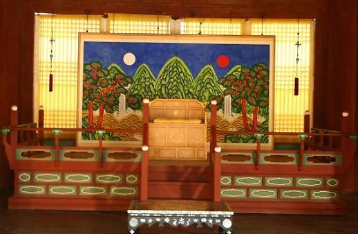 Ý nghĩa của Bức bình phong: Ilwoloakdo - Nhật nguyệt ngũ nhạc đồ