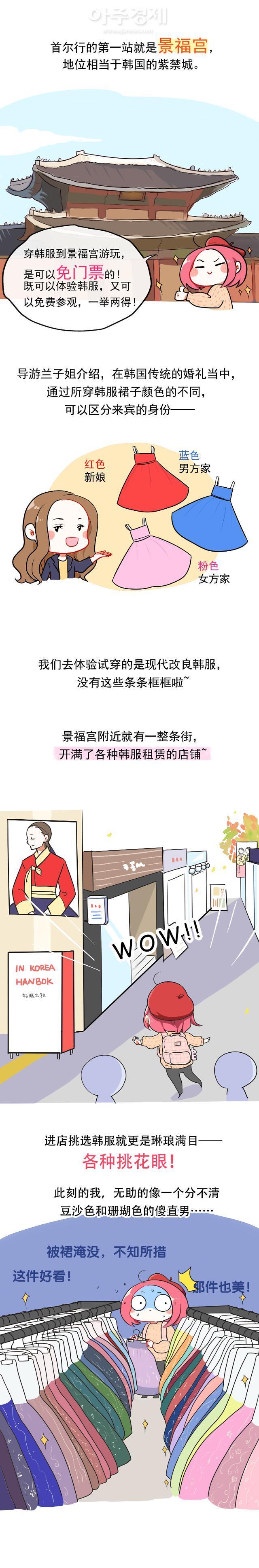 [서울은 지금 크리에이터中] 만화가 샤Dora(夏Dora)의 서울여행 에피소드1.경복궁 편