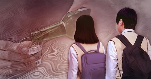 韩国青少年酒精中毒人数7年间增2.1倍